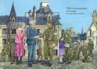 Alderney - 75° Ann. D-day - foglietto nuovo