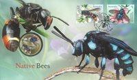 Australia - Mehiläisiä - Kolikkokuori