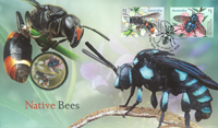 Australia - Bees - PNC / Coin Cover