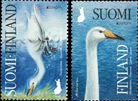 Finland - Europa Fugle - Postfrisk sæt 2v