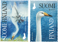Finlande - Europa Cept 2019 Oiseaux - Série neuve 2v