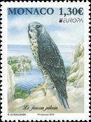 Monaco - Europa 2019 Fugle - Postfrisk frimærke