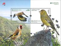 Madeira - EUROPA 2019 National birds - Mint Souvenir sheet