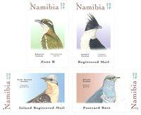 Namibie - Coucous - Séire neuve 4v