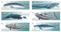 Namibie - Baleines - Série neuve 6v