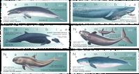Namibia - Hvaler - Postfrisk sæt 6v