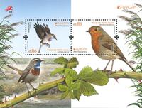 Portugal - Europa Cept 2019 Oiseaux - Bloc-feuillet neuf