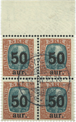 Island 1925 - AFA 113 - Stemplet