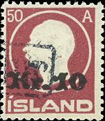 Island 1925 - AFA 119 - Stemplet