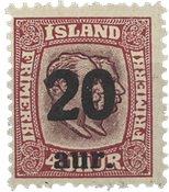Islande 1921-22 - AFA 110 - Neuf sans ch.
