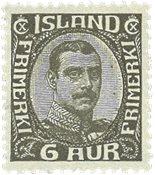 Island 1920 - AFA 87 - Postfrisk