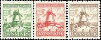Danmark 1937 - AFA 236-38 - Postfrisk