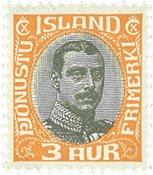 Island 1920 - AFA 33 - Postfrisk