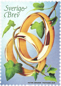 Sweden - My invitation - Mint stamp - Rings