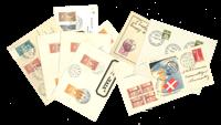 Danmark - Luftpostkuverter