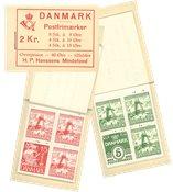 Danemark - Carnet Dybbøl de haute qualité
