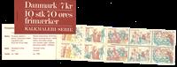 Danmark - S14 frimærkehæfte 1973