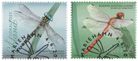 Åland - Libellules - Série obl. 2v
