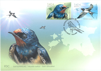 Estonia - EUROPA 2019 National birds - First Day Cover