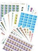 Engelske Kolonier - 100 forskellige postfriske helark