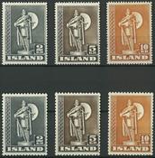 Island - 2-5-10 kr.