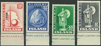 Island - Overtryk 1940 postfrisk