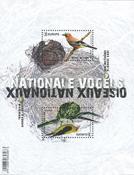 Belgia - Eurooppa 2019 - Kansallislinnut - Postituore pienoisarkki