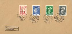 Island - Kuverter med frimærker