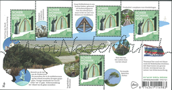 Netherlands - Beautiful Holland Shiermonnikoog - Mint souvenir sheet