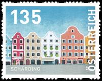 Autriche - Région Scharding - Timbre neuf de rouleau