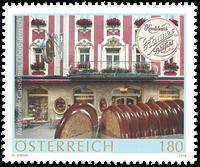 Autriche - Pâtisserie Zauner - Timbre neuf