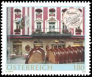 Autriche - Gastronomie - Pâtisserie Zauner - Timbre neuf