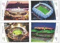 Australie - Stades - Série neuve 4v