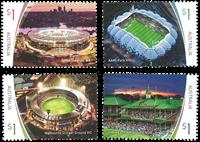 Australien - Stadions - Postfrisk sæt 4v