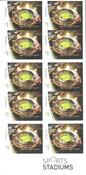 Australie - Stade Melbourne - Carnet neuf