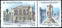 Frankrig - Montpellier Filatelistkongres - Postfrisk frimærke