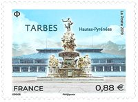 France - Tarbres - Timbre neuf