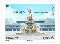 France - Tarbes - Mint stamp