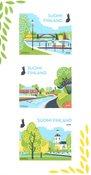 Finland - Byparker - Postfrisk sæt 3v