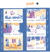 Finlande - Les Moumines - Carnet neuf