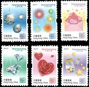 Hong Kong - Heartwarming 2019 - Postfrisk sæt 6v