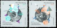 Liechtenstein - Atterrissage sur la lune, 50 ans - Série neuve 2v