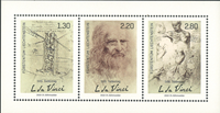 Liechtenstein - 500-året for Leonardo da Vinci - Postfrisk miniark