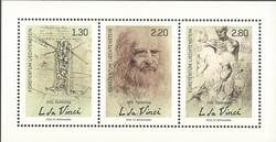 Liechtenstein - Leonardo da Vinci, 500 ans - Mint souvenir sheet