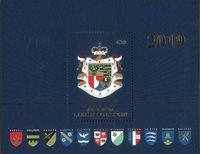 Liechtenstein - Våbenskjold - Postfrisk miniark
