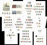 Danemark - Collection en album Stender