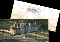 France - Château de Chambord - Bloc-feuillet neuf en pochette