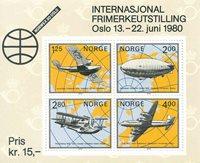 Norge - AFA 816 - Postfrisk miniark