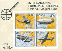 Norvège - AFA 816 - Bloc-feuillet - Neuf
