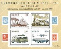 Norvège - AFA 828 - Bloc-feuillet - Neuf